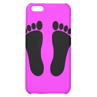Foot_001__Two_Vector_Clipart iPhone 5C Case
