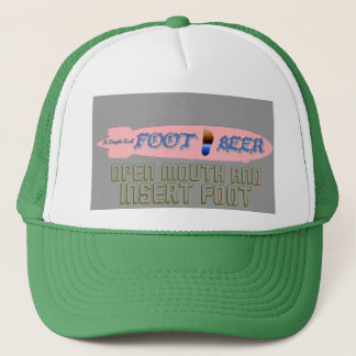FOOT BEER-It s Dirigible Good! Good BIGFOOT Taste Trucker Hat