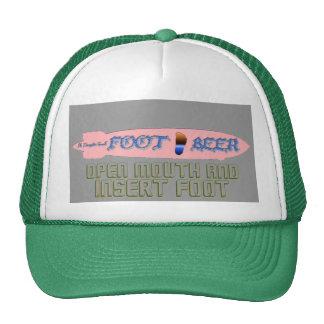 FOOT BEER-It s Dirigible Good! Good BIGFOOT Taste Trucker Hat