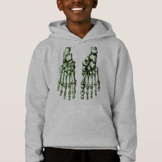 Foot bones. hoodie