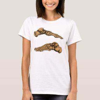 Foot bones. T-Shirt
