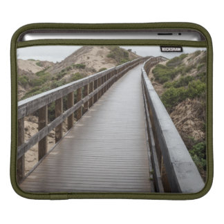 Foot Bridge at Oso Flaco Lake State Park Sleeve For iPads