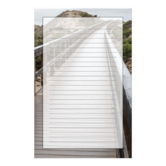 Foot Bridge at Oso Flaco Lake State Park Stationery