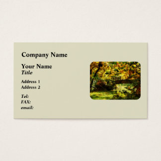 Foot Bridge Business Card