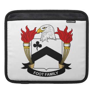 Foot Family Crest iPad Sleeves