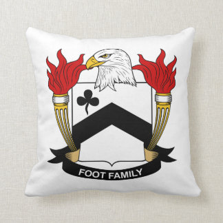 Foot Family Crest Pillows