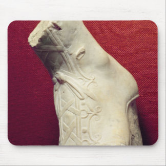 Foot from a statue mousepad