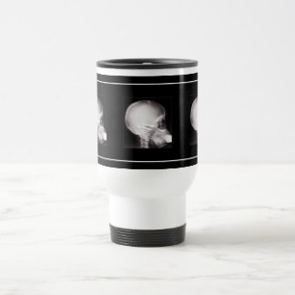 Foot in Mouth (Add your Text) Travel Mug