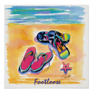 Foot-Loose-poster Poster