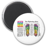 Foot-Massage-Reflexology Refrigerator Magnet