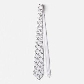 Foot Massage Stick Figure Tie