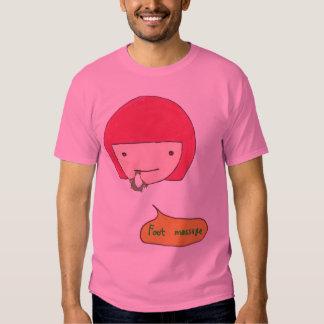 Foot Massage T Shirts