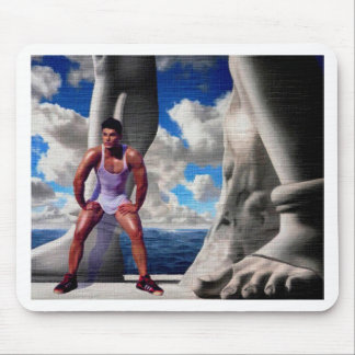 Foot of the Gods Mouse Pad