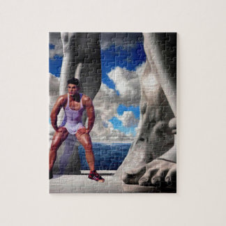 Foot of the Gods Jigsaw Puzzle