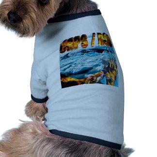 Foot on Glacier & Slogan Doggie T Shirt