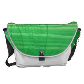 Foot Print Courier Bag