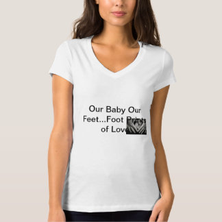 Foot Prints of Our Love T-Shirt