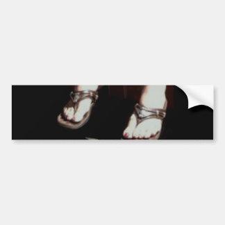 FOOT SLAVE BUMPER STICKER