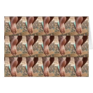 FOOT SLAVE CARD