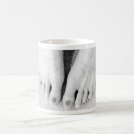 FOOT SLAVE CLASSIC WHITE COFFEE MUG
