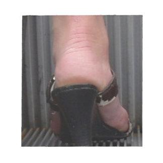 FOOT SLAVE MEMO NOTEPAD