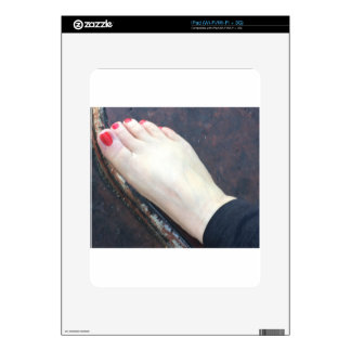 FOOT SLAVE SKIN FOR THE iPad
