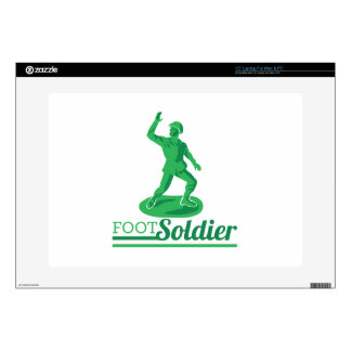 Foot Soldier Decal For Laptop