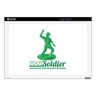 "Foot Soldier Skin For 17"" Laptop"