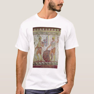 Foot soldiers, tomb painting from Paestum T-Shirt