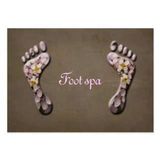 foot spa large business cards (Pack of 100)