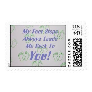 Foot Steps Postage
