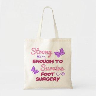 Foot Surgery Strong Tote Bag