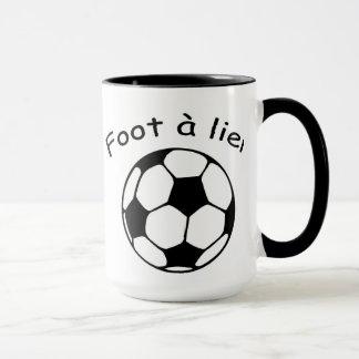 Foot to be bound mug