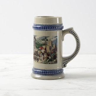 Foot Traffic on the Appian Way Beer Stein