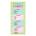 Footbal Gender Reveal Party Game Rack Card