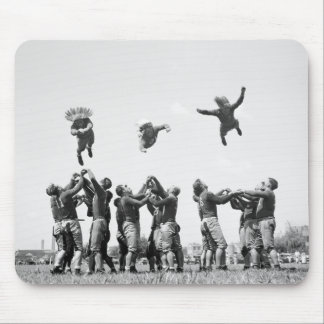 Football, 1930s mouse pad