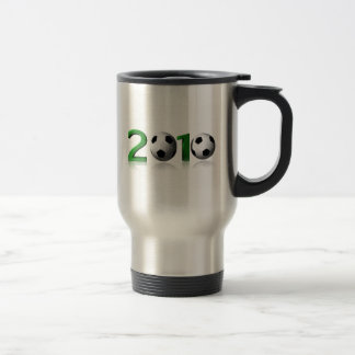 Football 2010 15 oz stainless steel travel mug