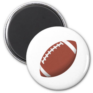 Football! 2 Inch Round Magnet