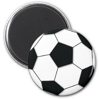Football 2 Inch Round Magnet