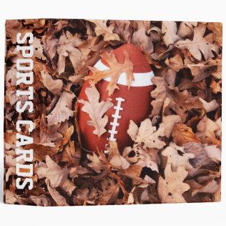 "Football 2"" Sports Cards Binder"