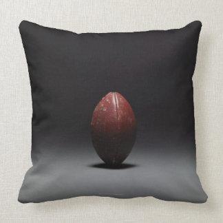 Football 2 throw pillow