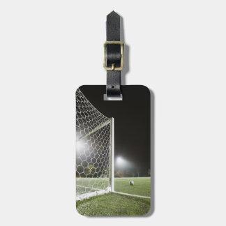 Football 3 bag tag