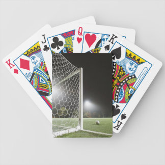 Football 3 bicycle playing cards