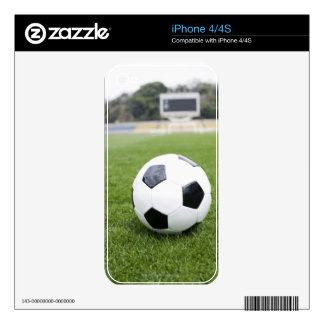 Football 4 decal for iPhone 4