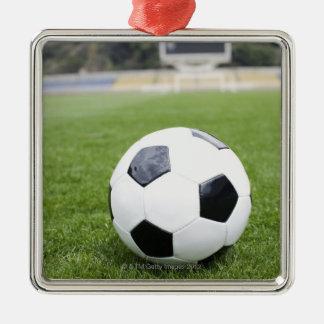 Football 4 metal ornament