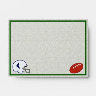 Football A6 envelope