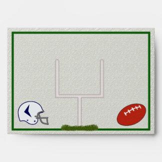 Football A7 envelope customizable