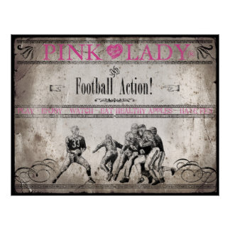 Football Action Poster