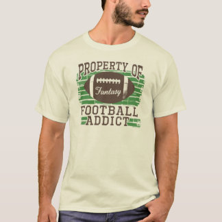 Football Addict by Mudge Studios T-Shirt