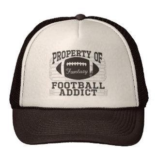 Football Addict by Mudge Studios Trucker Hat